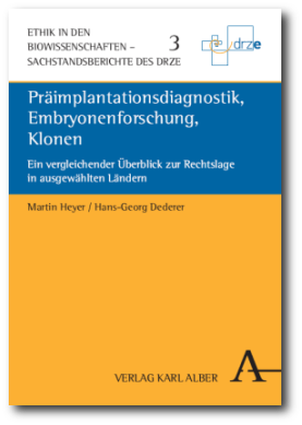 Präimplantationsdiagnostik, Embryonenforschung, Klonen